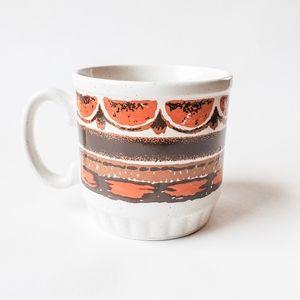 🇬🇧 Vintage 70s Stoneware Mug EIT England